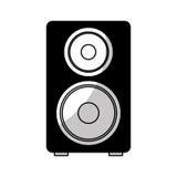 speaker audio device icon Stock Photos
