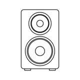 speaker audio device icon Royalty Free Stock Photography