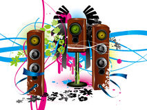 Speaker background Royalty Free Stock Photo