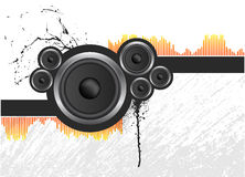 Speaker Background Royalty Free Stock Photography