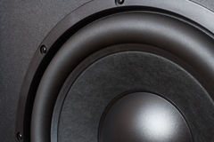 Speaker bass driver Stock Images