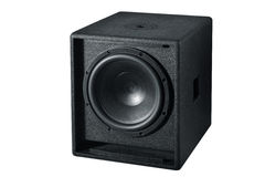 Speaker. Black speaker  with white background Royalty Free Stock Photography