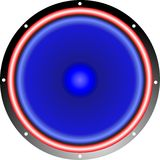 Speaker-blue Stock Photography