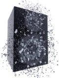 Speaker box exploding Royalty Free Stock Image