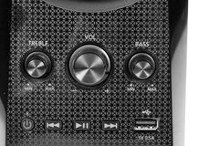 Speaker buttons Royalty Free Stock Image