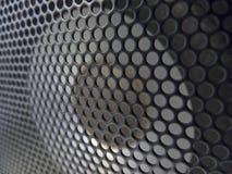 Speaker Cabinet & Grid Closeup Stock Images