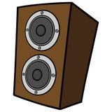 Speaker Cabinet Stock Image