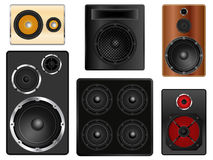 Speaker Cabinets Royalty Free Stock Photo
