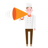 Speaker chef Stock Images