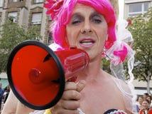 Speaker - Christopher Street Day Royalty Free Stock Images