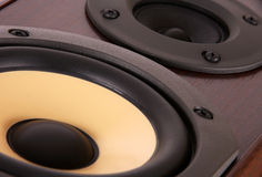 Speaker close up Royalty Free Stock Photos