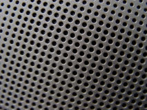 Speaker Closeup. Speaker with focus at top of image Stock Image
