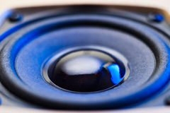 Speaker closeup Royalty Free Stock Image