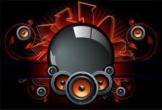 Free Speaker Comp In Dark Background Royalty Free Stock Image - 14938136