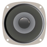 Speaker Cone Vector. A generic home or car audio speaker.  This vector is fully editable Stock Images