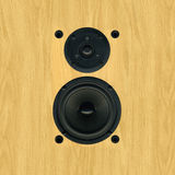 Speaker Cones Pine Finish Royalty Free Stock Photos