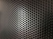 Speaker cover texture Royalty Free Stock Photography