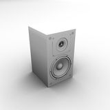 Speaker. 3d  Royalty Free Stock Image