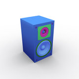 Speaker. 3d  Royalty Free Stock Photos