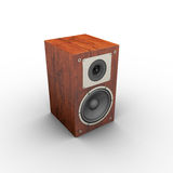 Speaker. 3d  Royalty Free Stock Photo