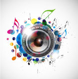 Speaker design royalty free illustration