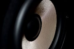 Speaker detail Royalty Free Stock Photos