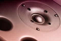 Speaker detail Royalty Free Stock Photography