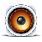 Speaker detailed icon Stock Photos