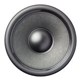 Speaker diaphragm cone isolated. On a white background Stock Image