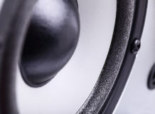 Speaker. Fragment. Close-up photography Stock Photo