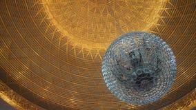 Speaker globe cage. Omnidirectional measurement sound source Outline Globe Source for room acoustics Stock Images