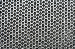 Speaker grid texture Royalty Free Stock Image