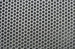 Speaker grid texture Royalty Free Stock Image