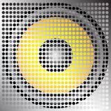Speaker Grill Illustration Royalty Free Stock Photography