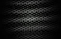 Speaker grill texture black Stock Photos