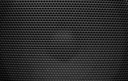 Speaker grill texture black Stock Images