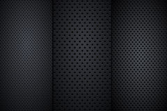 Speaker grill textures Royalty Free Stock Photo