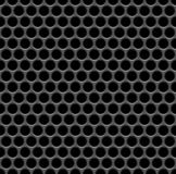 Speaker grille. Realistic speaker grille seamless background Stock Photography