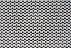 Speaker Grille. White painted speaker grille background texture royalty free stock image