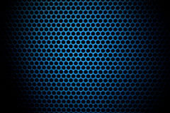 Speaker grille. Abstract background texture of a speaker grille made of perforated sheet metal Stock Images