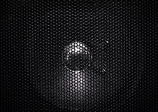 Speaker grille texture Royalty Free Stock Photos