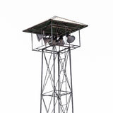 Speaker on high tower, Thailand asia Isolated Royalty Free Stock Photos