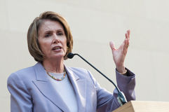 Speaker of the House Nancy Pelosi Royalty Free Stock Photos