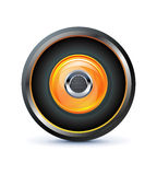 Speaker icon Royalty Free Stock Photo