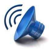 Speaker icon. 3d illustration of speaker icon Royalty Free Stock Photo