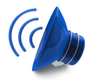 Speaker icon. In the design of information related to sound Stock Images