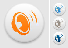 Speaker icon Royalty Free Stock Image