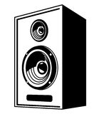 Speaker icon Stock Images