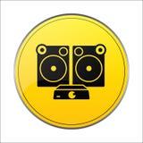 Speaker icon vector stock illustration