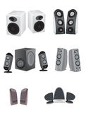 Speaker illustrations Stock Images